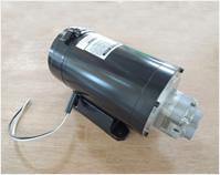 コンビネーションポンプ~弊社設計のDC48V電動モーターとKYB製ギヤポンプを組み合わせた油圧モーターです。